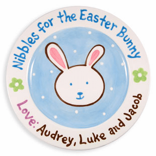 Nibbles for the Easter Bunny Plate