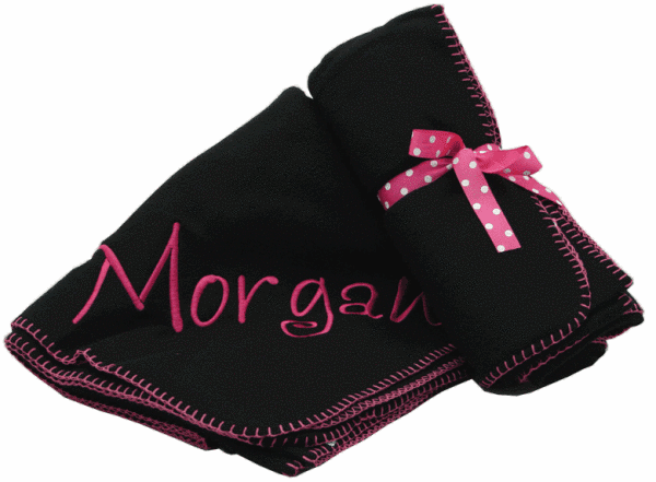 Personalized Fleece Throws by Mint