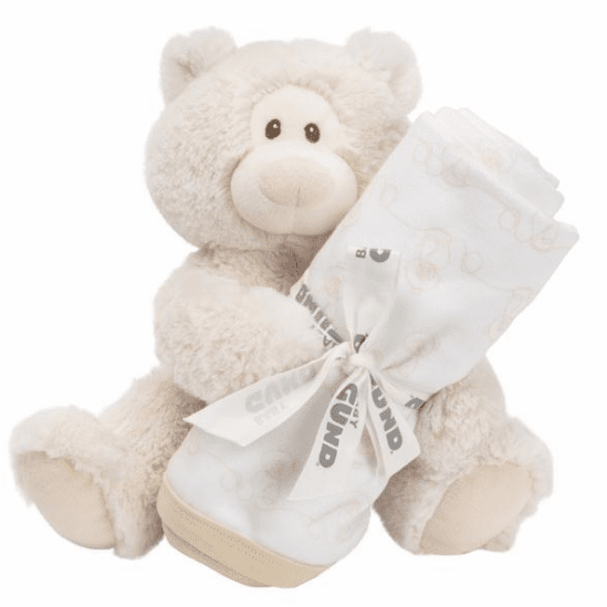 Philbin Plush Bear and Blanket Set Personalized