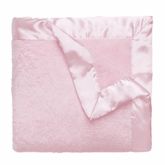 Pink Coral Fleece Blanket Personalized