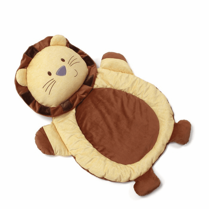 Playful Pals Lion Mat Personalized