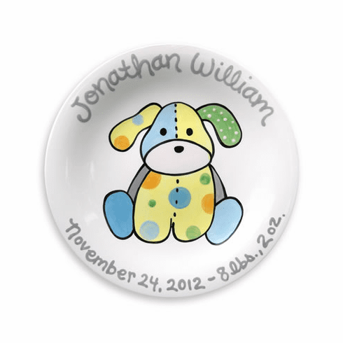 Precious Pup (Boy) Personalized Plate