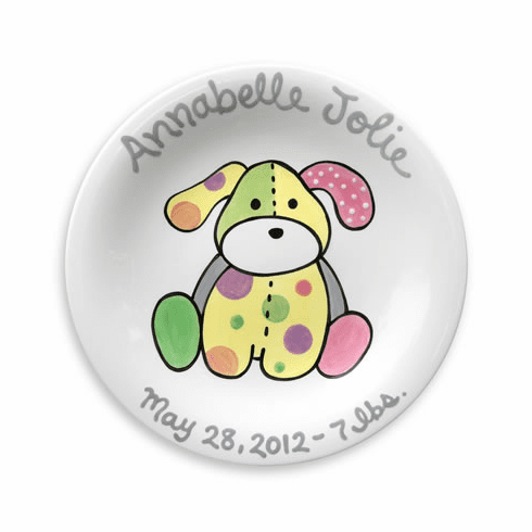 Precious Pup (Girl) Personalized Plate
