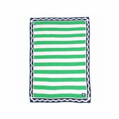 Prep Talk Blue Stroller Blanket
