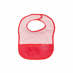 Red Baby Bib Personalized