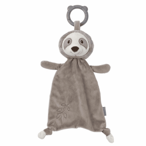 Reese Sloth Teether Lovey Personalized