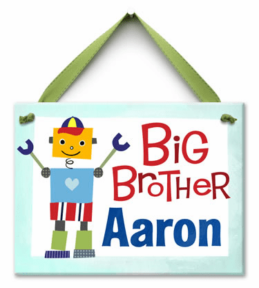 Robot Buddy Personalized Wall Tile