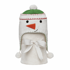 Snowman Hat and Fleece Blanket