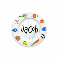 Sports Personalized Plate