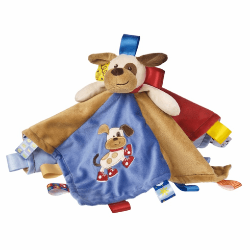 Taggies Buddy Dog Character Blanket Personalized