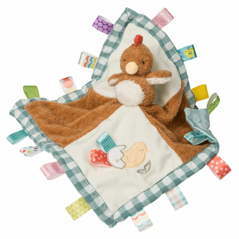 Taggies Chikki Chicken Character Blanket Personalized