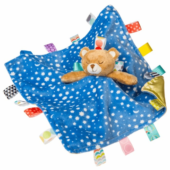 Taggies Starry Night Teddy Character Blanket Personalized