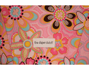 The Wipe Clutch - Crystal Pink