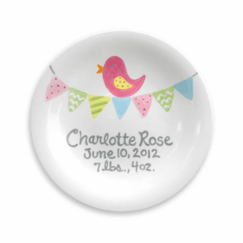 Tiny Tweet Personalized Plate