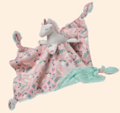 Twilight Baby Unicorn Character Blanket Personalized