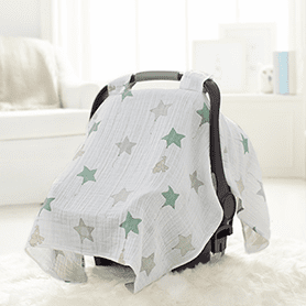 Up Up and Away Elephant Car Seat Canopy