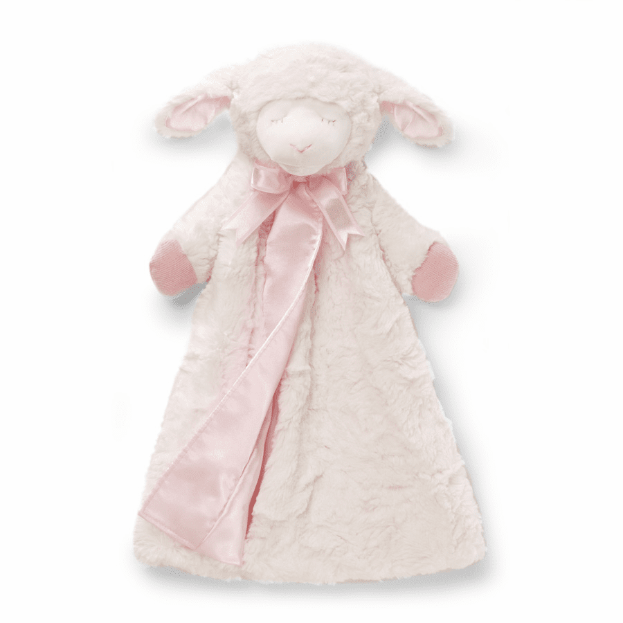 Winky Lamb Pink Huggybuddy Personalized