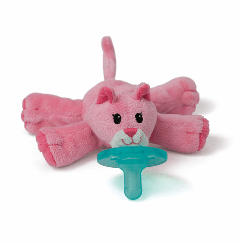 Wubbanub Pink Kitty Pacifier