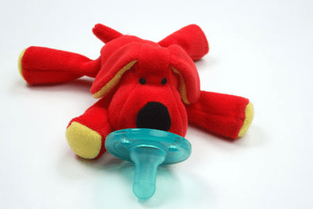 WubbaNub Red Dog Pacifier