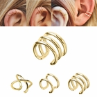 14K Solid Gold Celebrity Non-Piercing Cartilage Helix Ear Cuff
