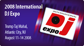 DJ EXPO - ATLANTIC CITY NJ - AUGUST 2008