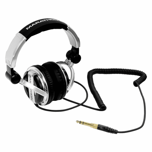 MARATHON ® DJH-1200 ™ Professional High Performance Stereo DJ Headphones