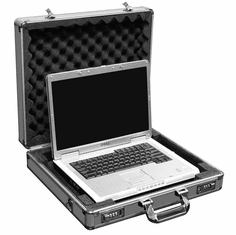 "MARATHON ® eLIGHT ® SERIES MA-ELT SILVER ™ LAPTOP CASE HOLDS UP TO A 17"" LAPTOP"