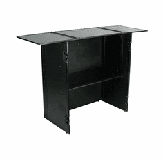 """MARATHON ® FLIGHT ROAD CASE ™ """"BLACK Series"""" MA-STANDTBLK ™ <br>Universal Stand with Integrated Table Top & Shelf Combo"""