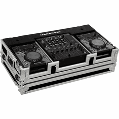 "MARATHON ® FLIGHT ROAD CASE ™ CASE MA-CDJ12W ™ Coffin Holds 2 x SMALL FORMAT CD Players: Pioneer CDJ200, CDJ-400, Denon DN-S1000, DN-S1200, Numark players plus 12"" mixer: Pioneer 800 ,700, Behringer DJX-750, DDM-4000, Gemini CS-02, Denon DN-1500, DN-X1100, DN-X170"