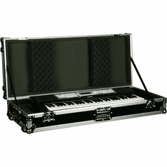 MARATHON ® FLIGHT ROAD CASE ™ CASE MA-KB61W ™ 61 NOTE KEYBOARD CASE WITH Z-LOCK FOAM W/ WHEELS