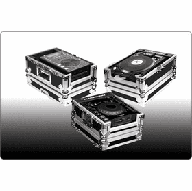 MARATHON ® FLIGHT ROAD CASE ™ FOR DJ CD PLAYERS & DIGITAL TURNTABLES (CDJ)