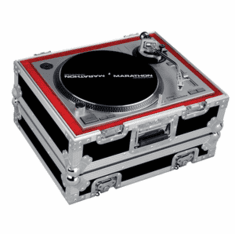 MARATHON ® FLIGHT ROAD CASE ™ MA-1200V2 ™ Heavy Duty Turntable Case with Full Removable Cover