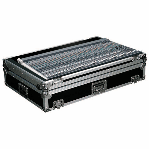 MARATHON ® FLIGHT ROAD CASE ™ MA-3204VLZ3W CASE FOR MACKIE 3204VLZ3 MIXING CONSOLE OR ANY EQUAL SIZE FORMAT MIXING CONSOLES W/ LOW PROFILE WHEELS