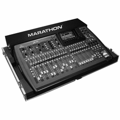 MARATHON ® FLIGHT ROAD CASE ™ MA-BEHX32 CASE FOR BEHRINGER X32 DIGITAL MIXING CONSOLE WITH DOG HOUSE AND CASTER BOARD