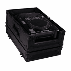 """MARATHON ® FLIGHT ROAD CASE ™ MA-CDIBLK ™ """"BLACK Series"""" <br>Case for American Audio Radius CDI-300MP3, 500MP3, Numark, ICDX and all other Medium Format CD Players"""