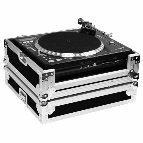 MARATHON ® FLIGHT ROAD CASE ™ MA-CDT ™ CASE TO HOLD 1X GEMINI CDT-05 TURNTABLE CD PLAYER