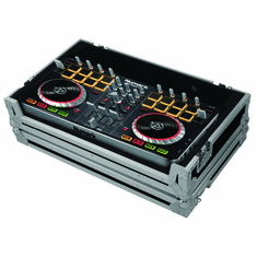 MARATHON ® FLIGHT ROAD CASE ™ MA-DJCTLMED UNIVERSAL MIDI CONTROLLER CASE HOLDS MEDIUM FORMAT CONTROLLERS SUCH AS: PIONEER DDJ-SB, DDJ SR, NUMARK MIXTRACK PRO SERIES, TRAKTOR KONTROL S2, S4, OR ANY EQUAL SIZE FORMAT CONTROLLER