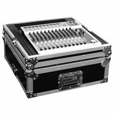 "MARATHON ® FLIGHT ROAD CASE ™ MA-M19 19"" MIXER CASE WITH 12 RACK SPACES WITHOUT RACK MOUNT - FITS PIONEER SVM-1000 VIDEO MIXER. FITS MEDIUM SIZE FORMAT LIVE CONSOLES SUCH AS YAMAHA, ALLEN & HEATH, MACKIE. ALSO CAN BE USED LIGHT CONTROLLERS AND OTHER NON-RACK MOUNTABLE UNITS"