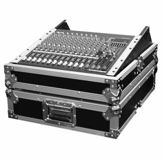 "MARATHON ® FLIGHT ROAD CASE ™ MA-M19R 19"" MIXER CASE WITH 12 RACK SPACES W/ RACK MOUNT - FITS PIONEER SVM-1000 VIDEO MIXER. FITS MEDIUM SIZE FORMAT LIVE CONSOLES SUCH AS YAMAHA, ALLEN & HEATH, MACKIE. ALSO CAN BE USED TO MOUNT IN LIGHT CONTROLLERS AND OTHER RACK MOUNTABLE UNITS"