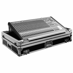 MARATHON ® FLIGHT ROAD CASE ™ MA-M324W CASE FOR MOST 32.4 CHANNEL FORMAT MIXING CONSOLES SUCH AS MACKIE, PEAVEY, YAMAHA, ALLEN & HEATH, SOUNDCRAFT. INCLUDES LOW PROFILE WHEELS FOR EASY TRANSPORT