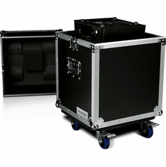 MARATHON ® FLIGHT ROAD CASE ™ MA-MH250W ™ LIGHTING CASE WITH CASTER PLATE