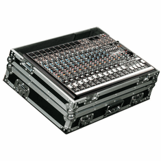 MARATHON ® FLIGHT ROAD CASE ™ MA-PROFX16 CASE FOR MACKIE PROFX16 MIXING CONSOLE OR ANY EQUAL SIZE FORMAT MIXING CONSOLES