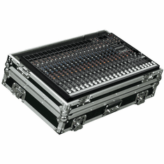 MARATHON ® FLIGHT ROAD CASE ™ MA-PROFX22 CASE FOR MACKIE PROFX22 MIXING CONSOLE OR ANY EQUAL SIZE FORMAT MIXING CONSOLES