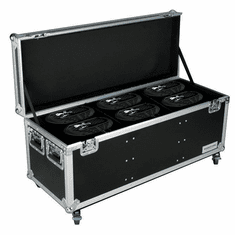 MARATHON ® FLIGHT ROAD CASE ™ MA-SNIPER2R6PACKW CASE TO HOLD 6 X ELATION SNIPER 2R LIGHT EFFECT - STACKABLE WITH CASTER DISH PLATE