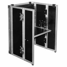 """MARATHON ® FLIGHT ROAD CASE ™ MA-STAND26 MINI ™ UNIVERSAL DJ STAND FOLD OUT FOR ALL MIXER SLANT CASES 26"""" HIGH (formerly MA-DJSTAND26 MINI)"""