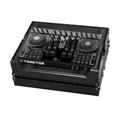 "MARATHON ® FLIGHT ROAD CASE ™ MA-TKS4BLK ™ ""BLACK Series"" - Case to hold 1 x Traktor Kontrol S4 Controller"