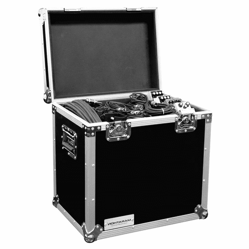 "MARATHON ® FLIGHT ROAD CASE ™ MA-TUT181312 UTILITY TRUNK CASE WITH EXTERIOR DIMENSION OF 18""W X 13""D X 12""H"