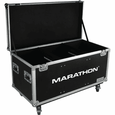 MARATHON ® FLIGHT ROAD CASE ™ MA-TUT603724W Utility Trunk Case with Caster Kit and Stackable Caster Dish