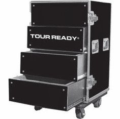 MARATHON ® FLIGHT ROAD CASE ™ MA-WORKBOX1000 UTILITY PRODUCTION AND STORAGE CASE WITH DRAWER - HEAVY DUTY CASTERS WITH BRAKES MA-WKBOX1000