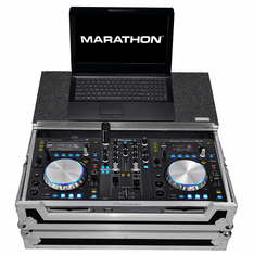 MARATHON ® FLIGHT ROAD CASE ™ MA-XDJR1LT Case-to-Hold 1 x Pioneer XDJR1 DJ Music Controller + Laptop Shelf